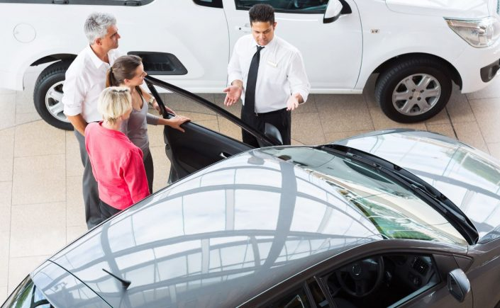 used car dealership success