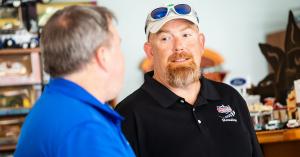 Chris Tingler is a dealer who uses an automotive floor plan
