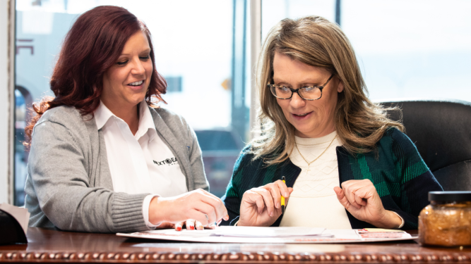 Dealer Kathy Ward is managing her finaces with the help of NextGear Capital