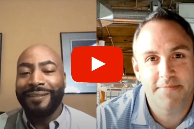 Thad Sykes and Mo Zahabi discussing digital retailing