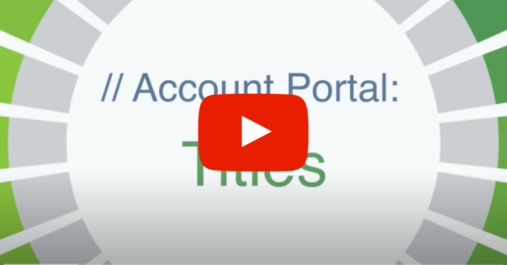 Discuss Account Portal more in-depth with our tutorial series