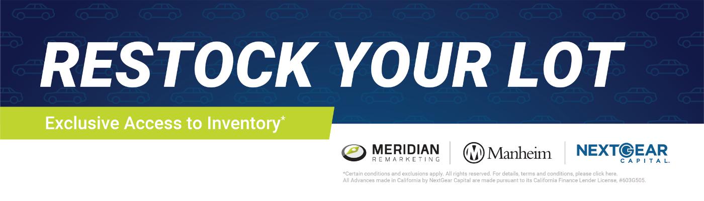 Closed Meridian Sale